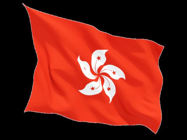 hong_kong_fluttering_flag