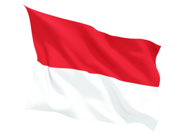 indonesia_fluttering_flag