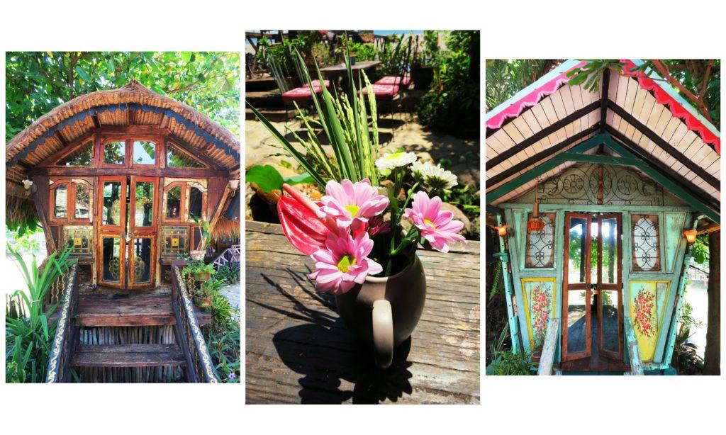 images of the decor at la laguna bali