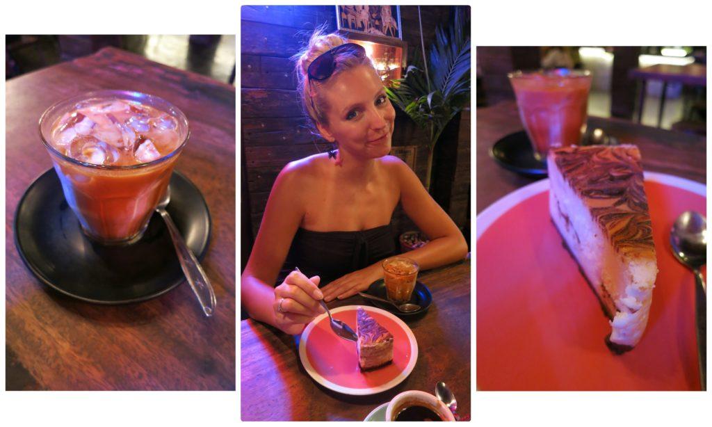 image of girl at revolver espresso in seminyak bali