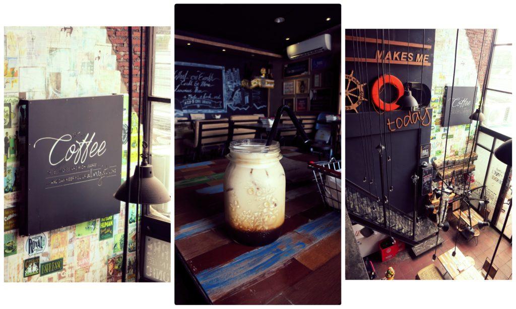 image of coffee at the coffee libarary in seminyak bali