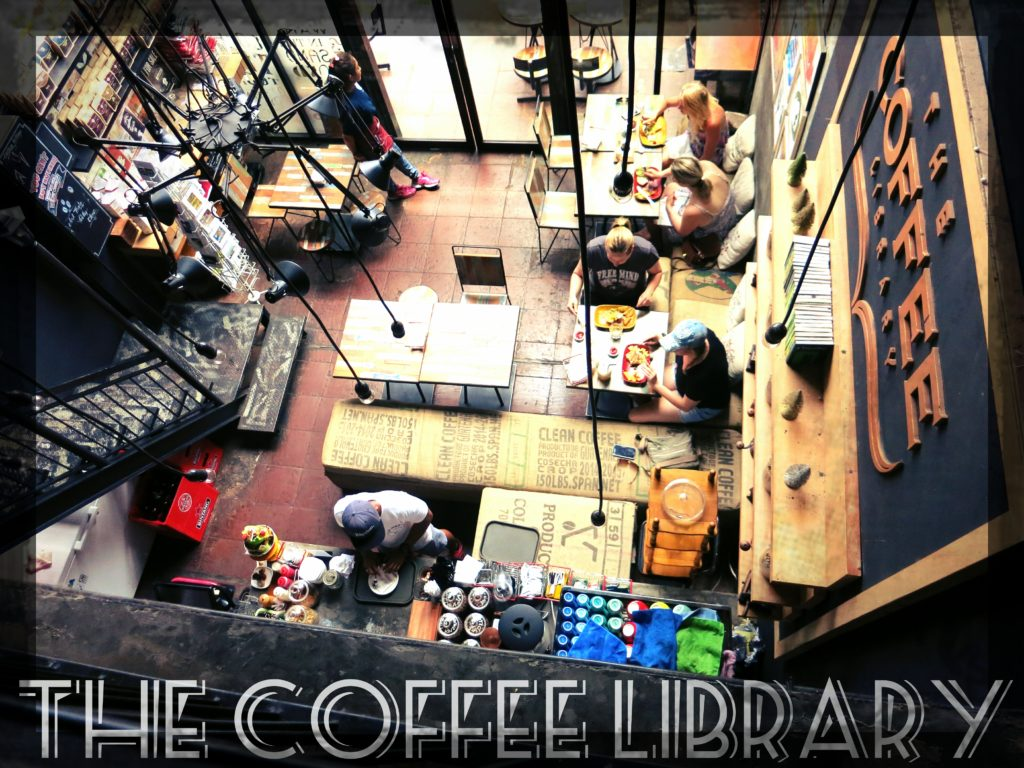 image of the coffee library in seminyak bali