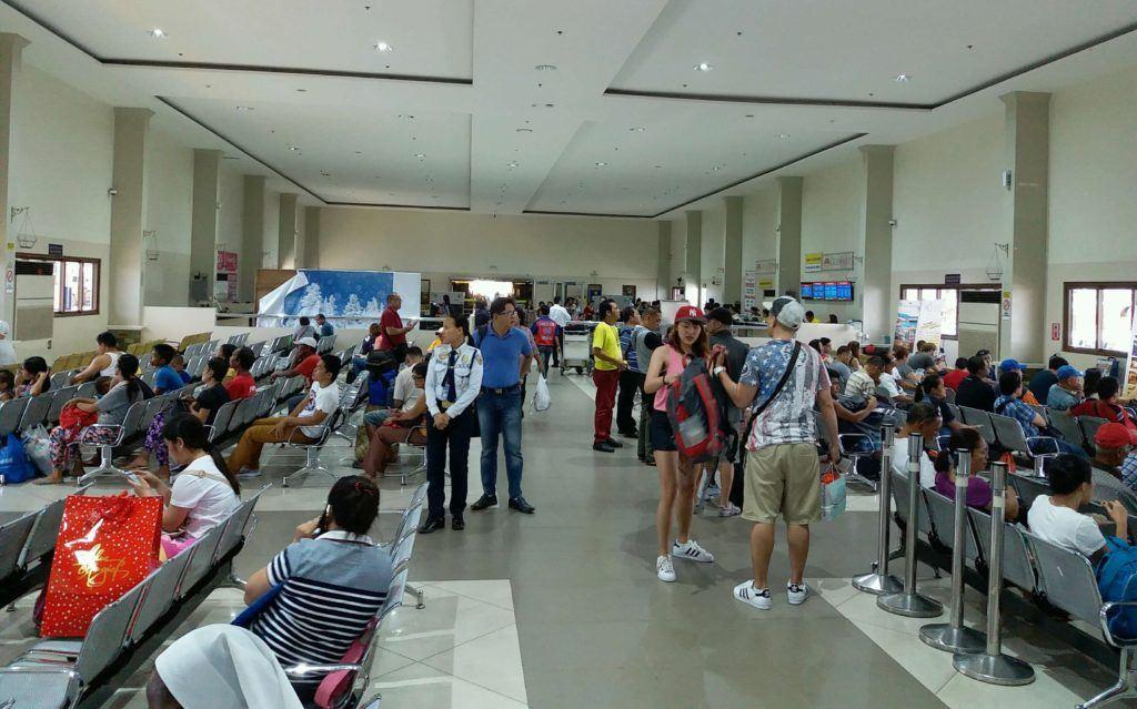 Waiting area Pier 1, Cebu