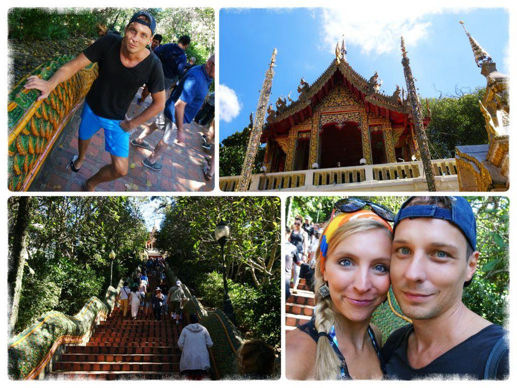 Doi Suthep Temple outside