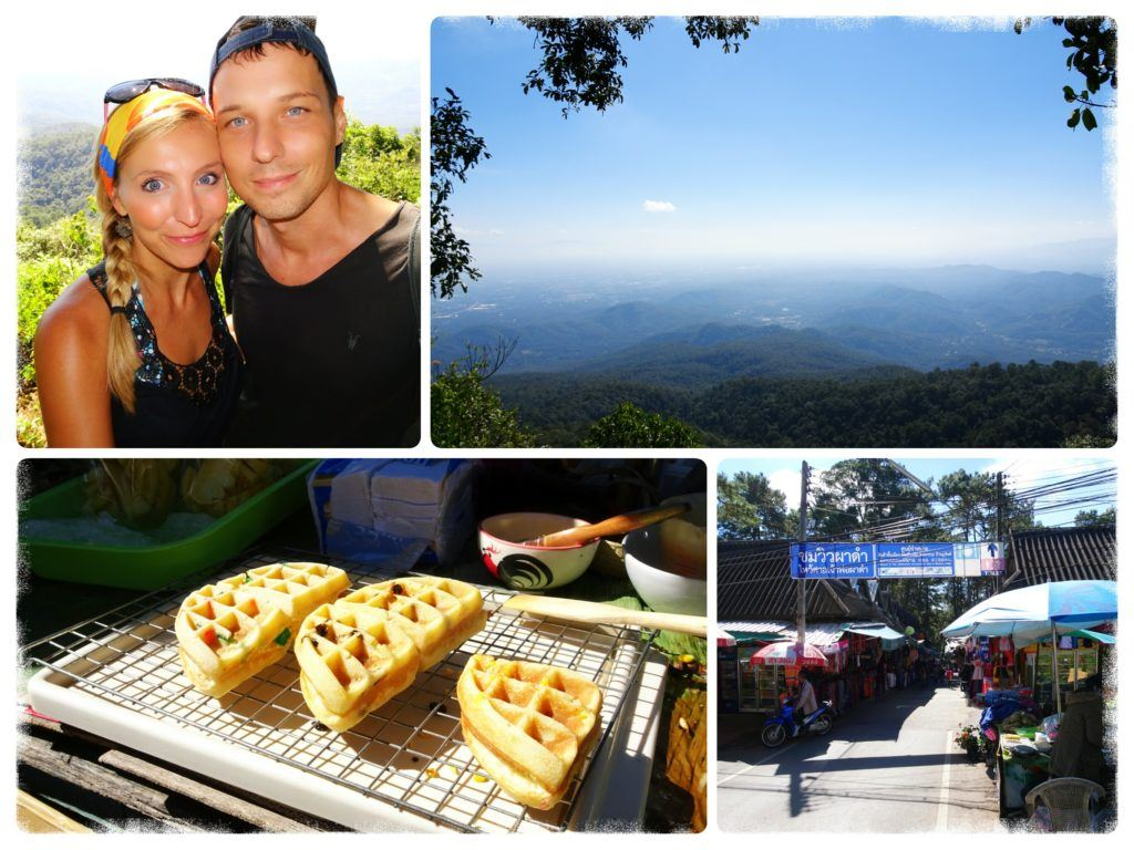 Phuping close to Chiang Mai offering waffles and panoramic views