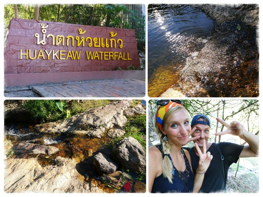 huay keaw waterfall near chiang mai