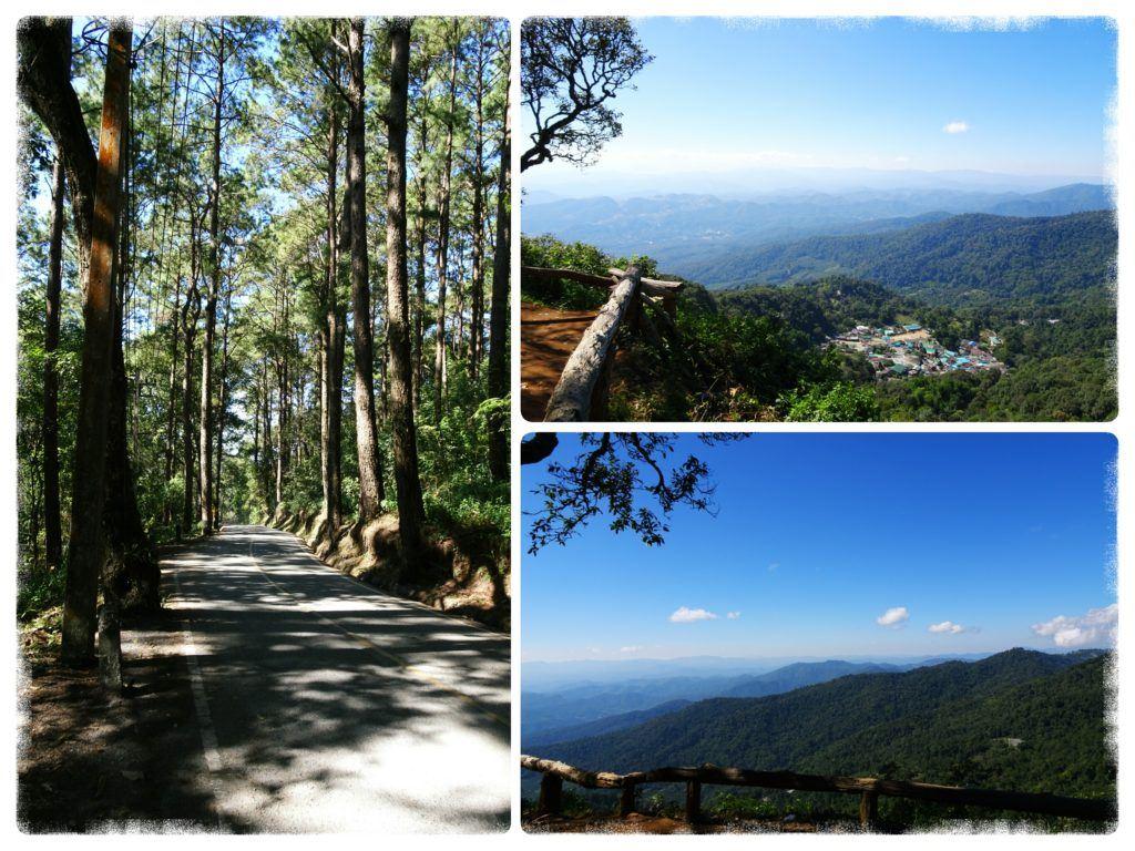 panoramic views of the surroundings of Chiang Mai Thailand