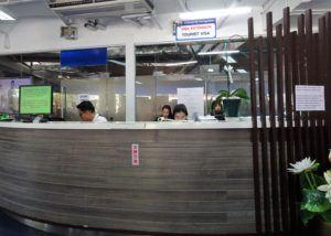 Chiang Mai Visa Extension waiting area at Promenada Mall