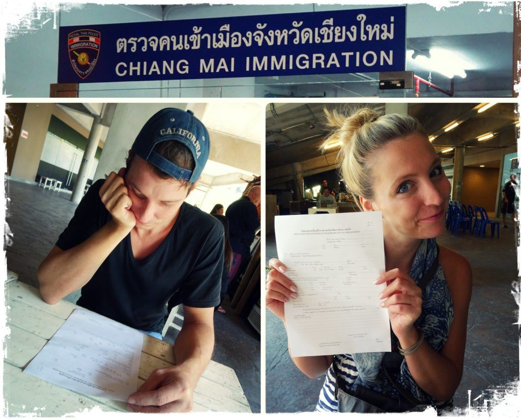 Tourist Visa Extension in Chiang Mai