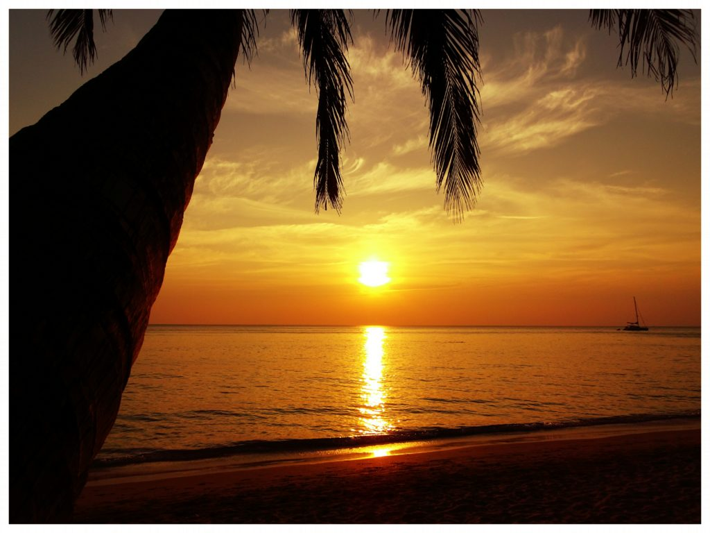 sunset koh chang thailand