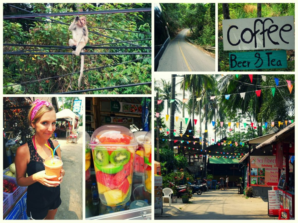 things to do and see on your scooter tour along the west coast of Koh Chang island