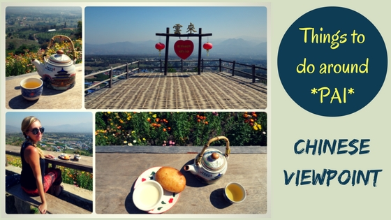 CHINESE VIEWPOINT IN PAI – Spectacular countryside views