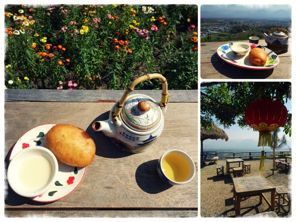 top things to do in Pai_tea and buns served at the Chinese viewpoint in Pai