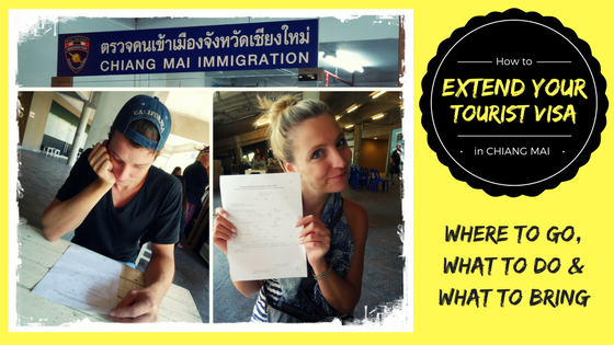 HOW TO EXTEND YOUR TOURIST VISA FOR THAILAND IN CHIANG MAI