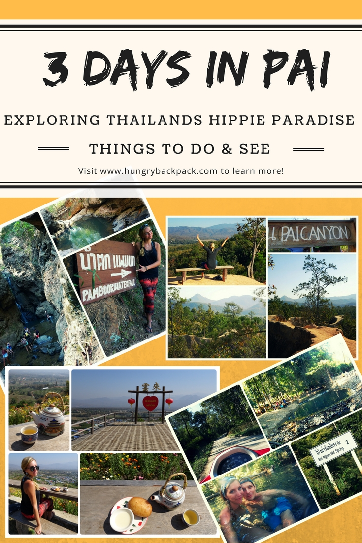 3 days in Pai_best things to do and see