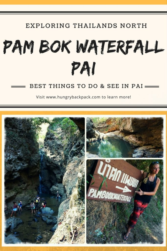 Pam Bok Waterfall in Pai_best things to do and see in Pai