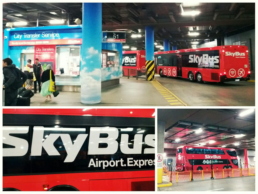 Taking the Skybus from Melbourne Airport to Southern Cross Station