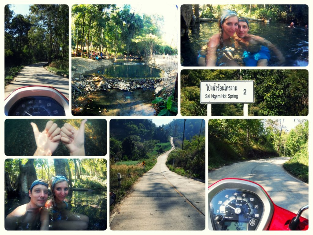Things to do in Pai_Scooter Tour to the Sai Ngam Hot Springs in Pai Thailand