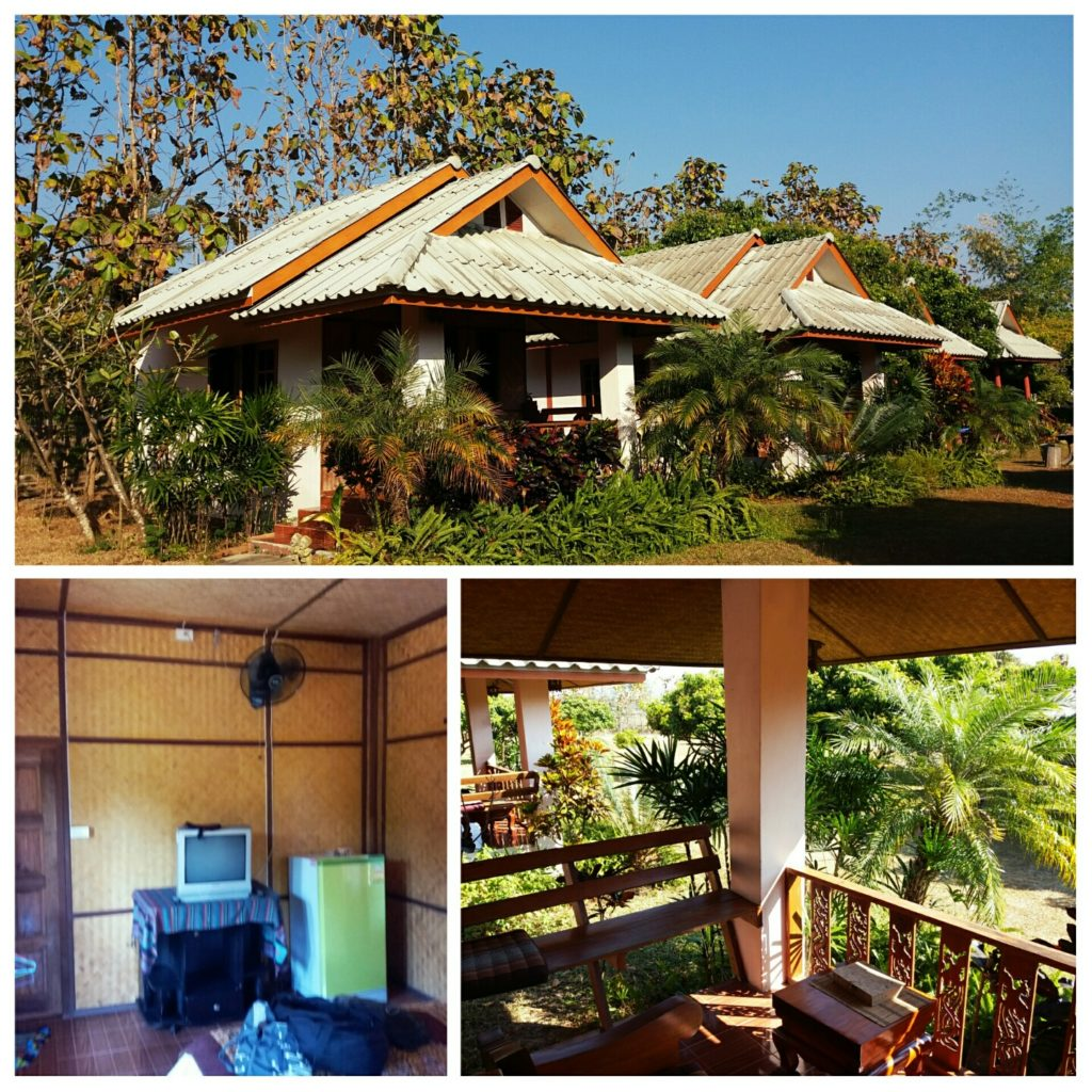 Where to sleep in Pai Orange Grove Resort in Pai Thailand