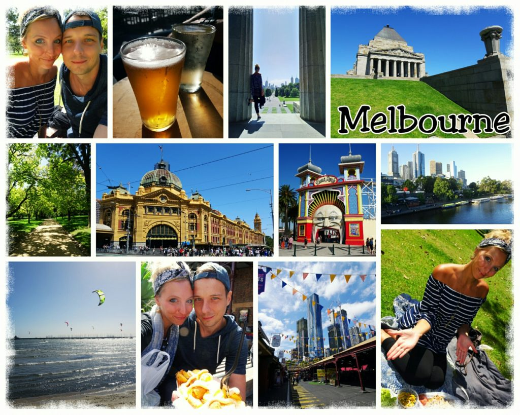 collage Melbourne things to do and see