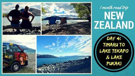 NEW ZEALAND ROADTRIP DAY FOUR: Timaru – Lake Tekapo – Lake Pukaki