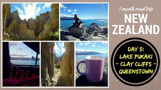 NEW ZEALAND ROADTRIP DAY FIVE: Lake Pukaki – Clay Cliffs – Queenstown