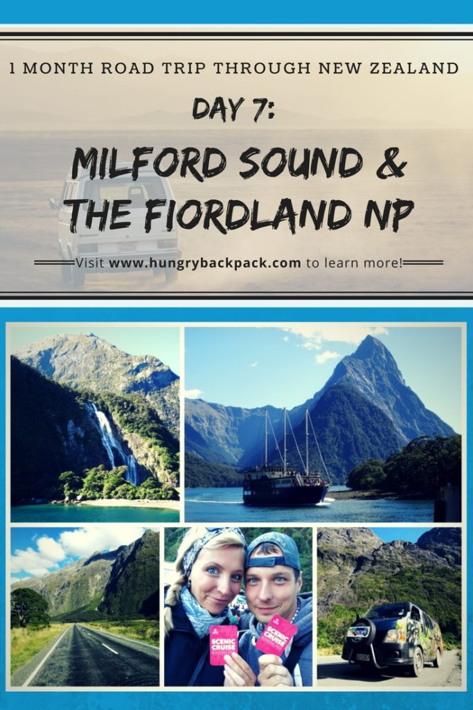 Road trip New Zealand day 7 Milford Sound and Fiordland National Park