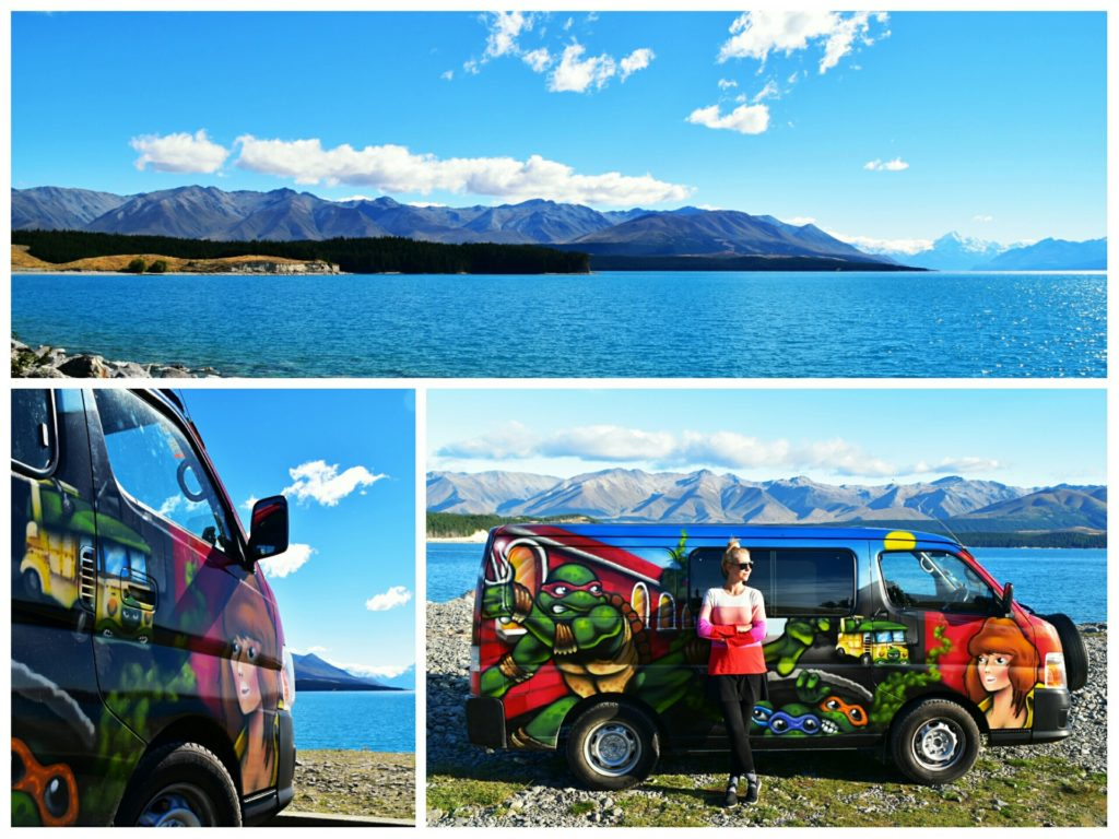 lake pukaki new zealand escape camper van