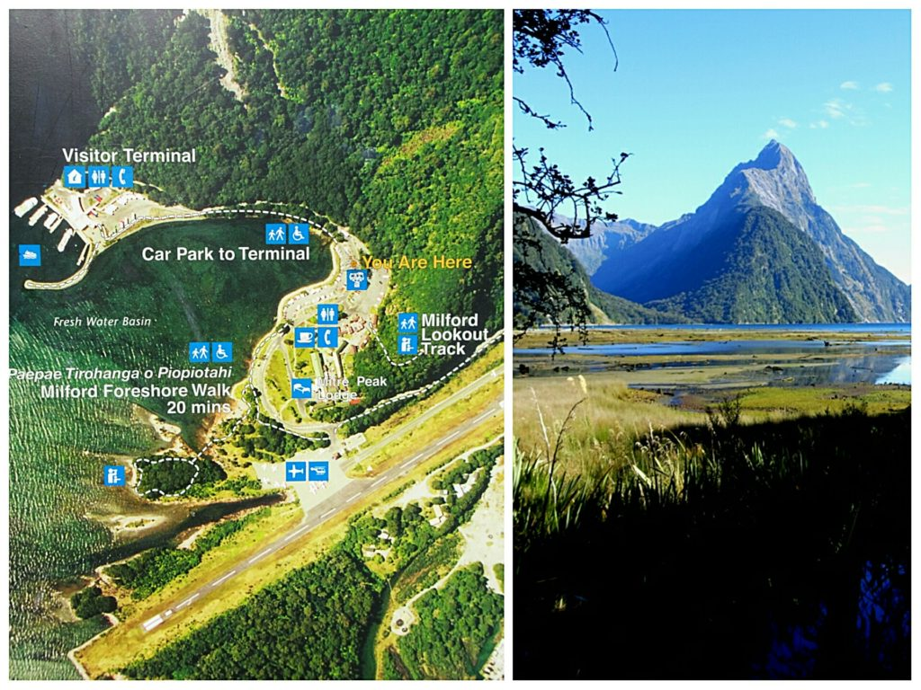 new zealand road trip queenstown milford sound aerial map