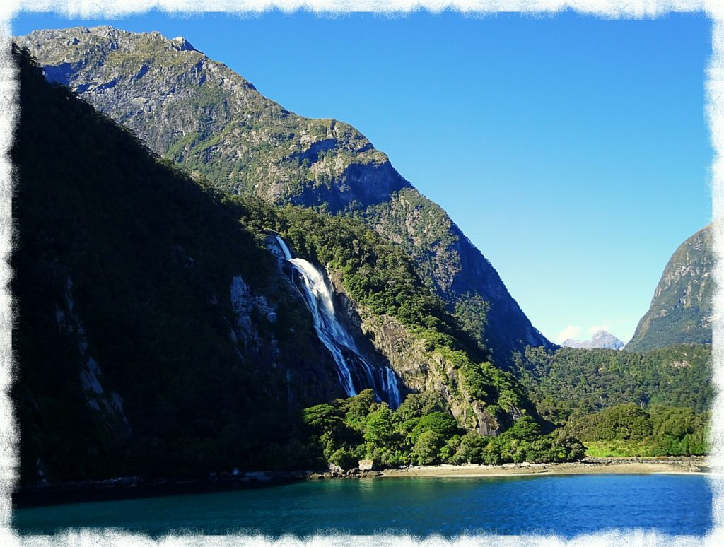 new zealand road trip queenstown milford sound bowen falls