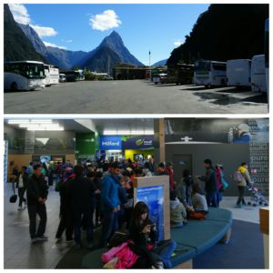 new zealand road trip queenstown milford sound ferry terminal