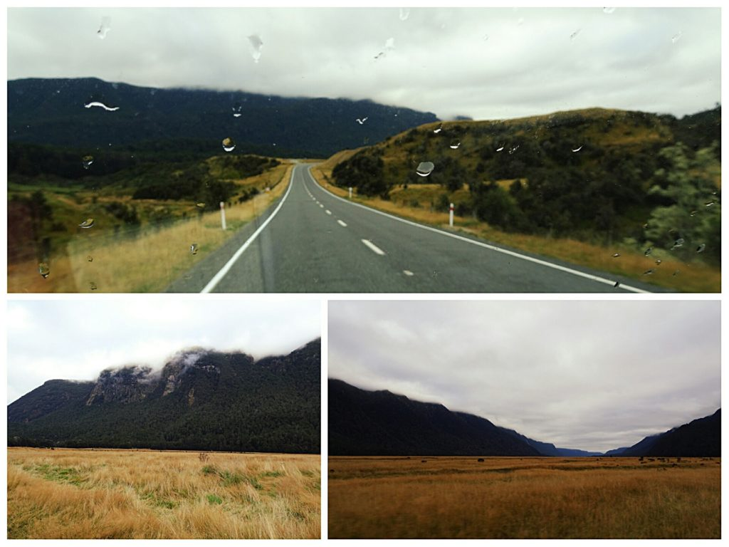 new zealand road trip queenstown milford sound rainy weather