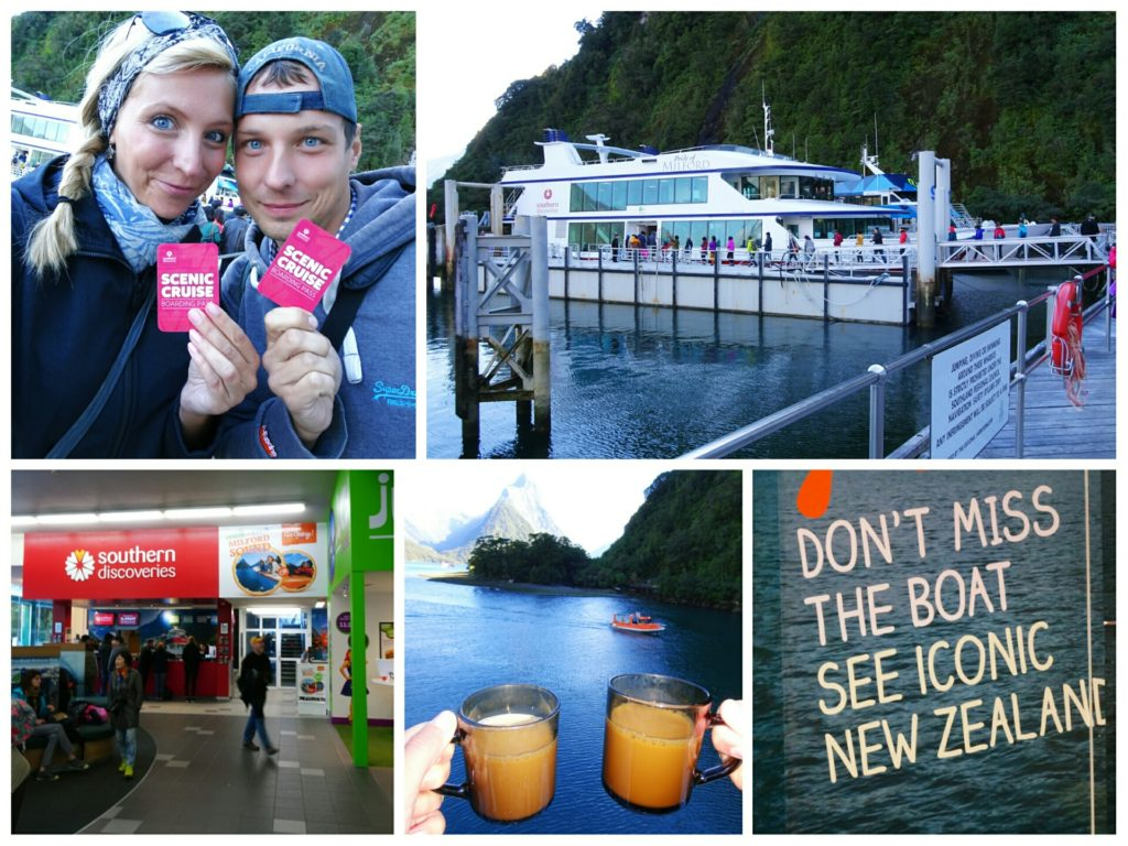 new zealand road trip queenstown milford sound southern discoveries cruise check in