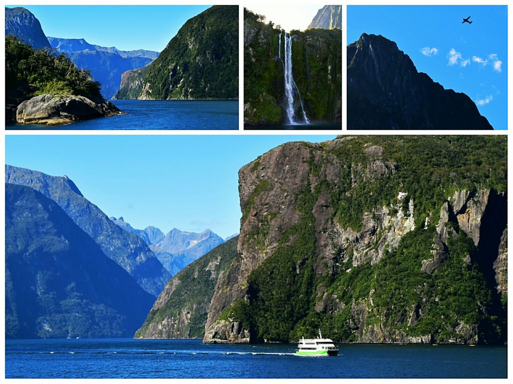 new zealand road trip queenstown milford sound views from cruise ship
