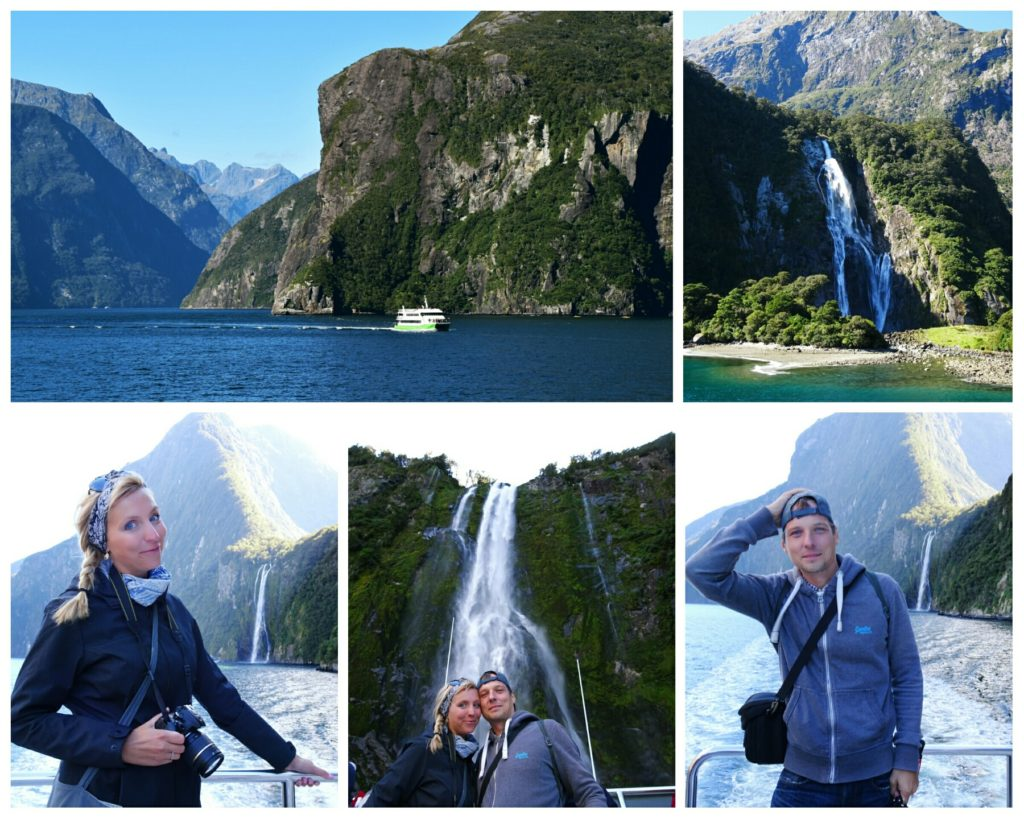 new zealand road trip queenstown milford sound stirling falls