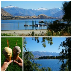 new zealand roadtrip wanaka ice with view
