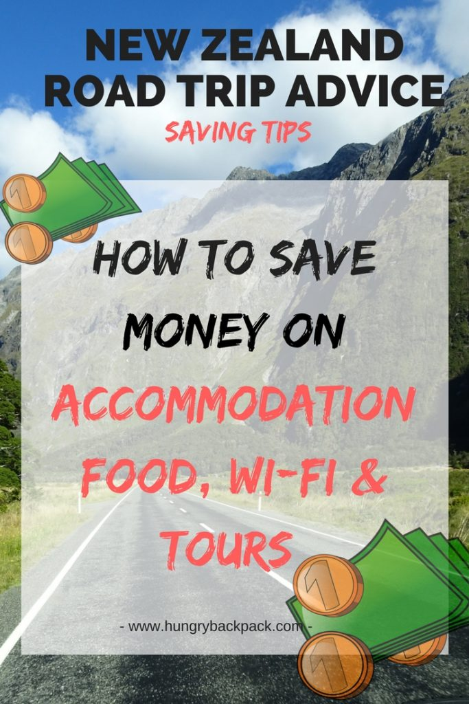 How to save money in New Zealand during road trip