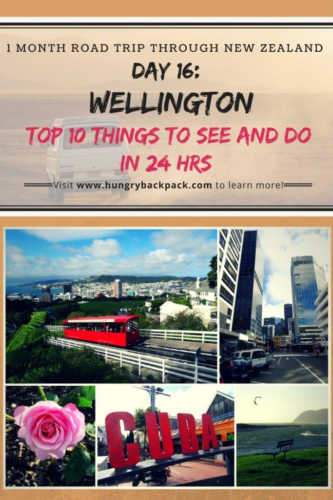 New Zealand Roadtrip Day 16 Wellington - Top 10 must-do's in Wellington in one day