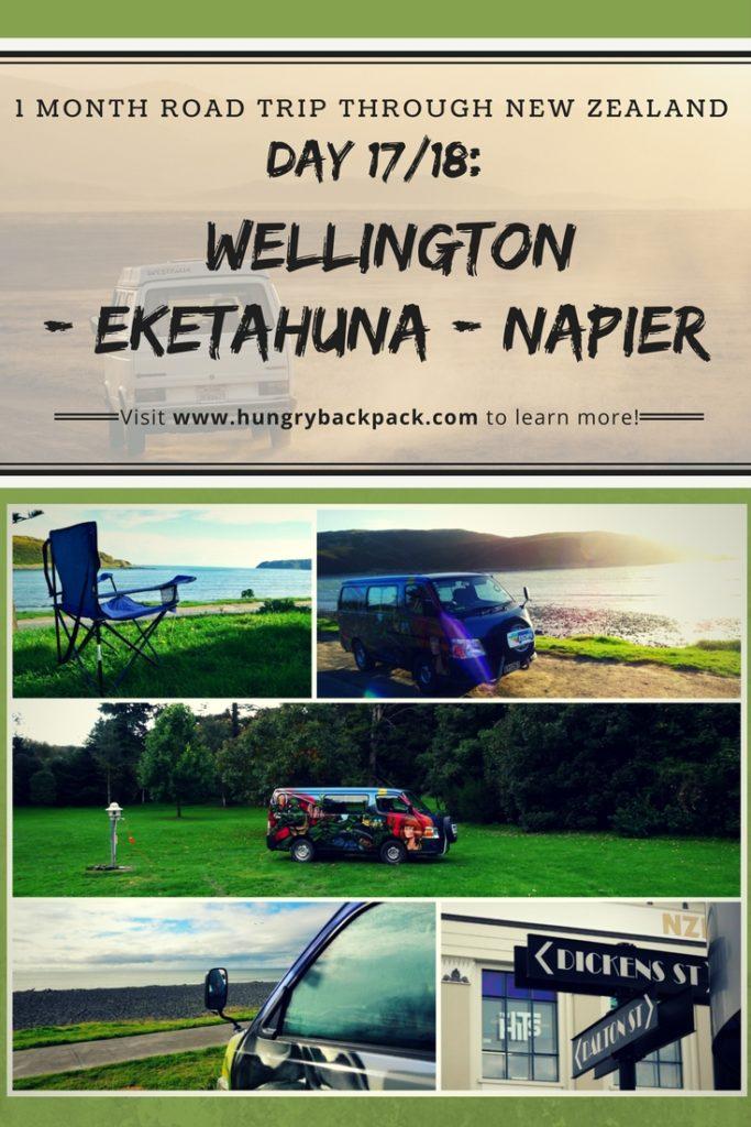 New Zealand Roadtrip Wellington to Napier