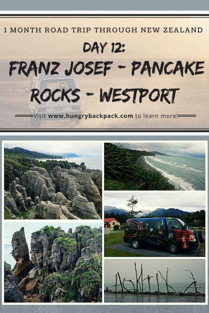 New Zealand day 12 Franz Josef - Pancake Rocks - Westport