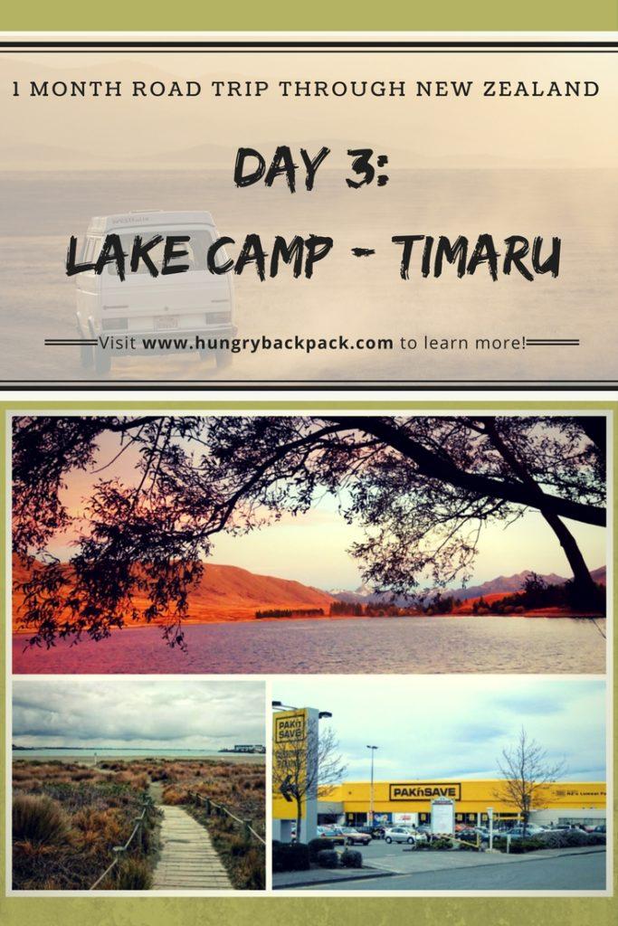 Road trip New Zealand day 3 Lake Camp to Timaru