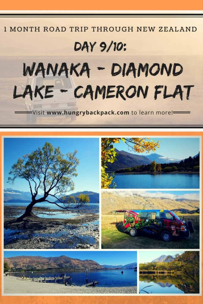 Road-trip-New-Zealand-Wanaka-Diamond-Lake-to-Cameron-Flat