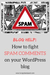 guide on how to avoid spam comments for wordpress blog