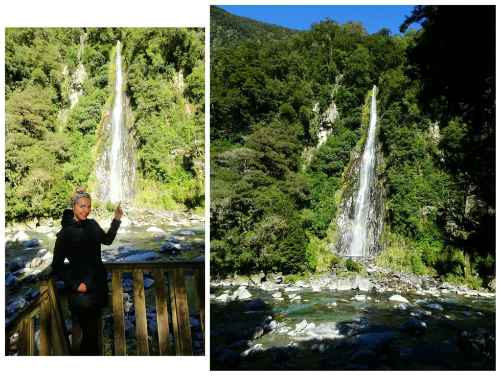 new-zealand-roadtrip-blue-pools-franz-josef-glacier-thunder-creek-waterfall