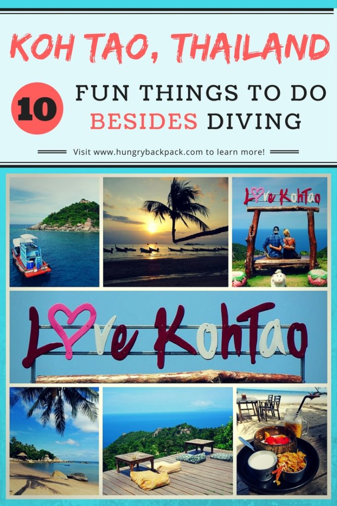 KOH TAO - 10 things to do for non-divers