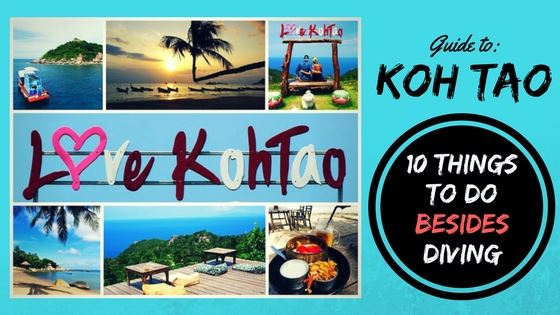 Koh Tao 10 things to do for non-divers