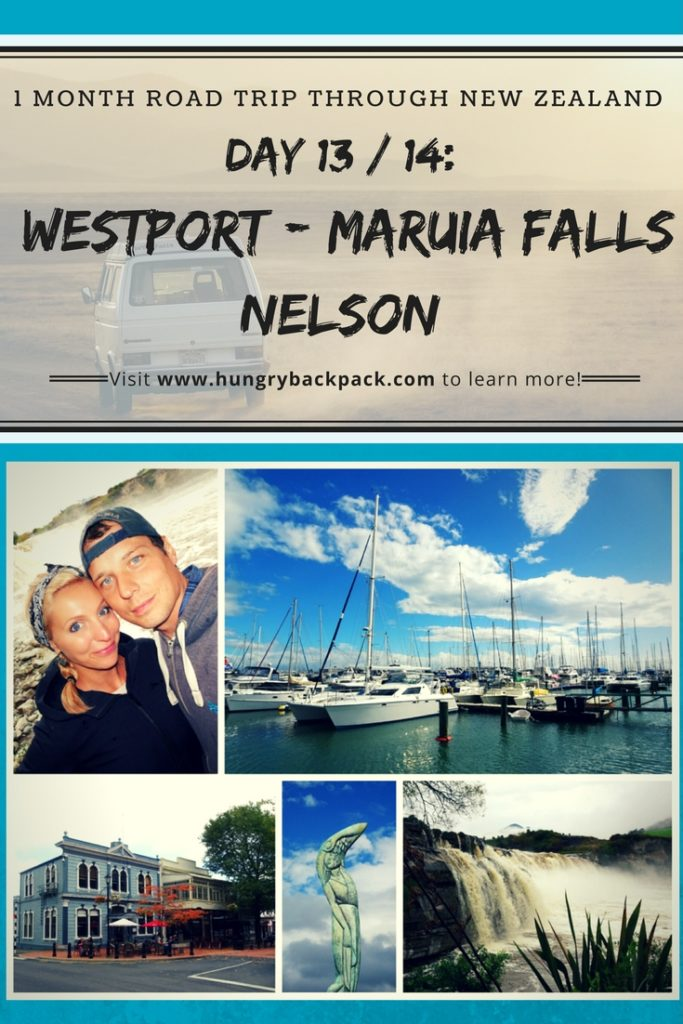 New Zealand Roadtrip Day 13_14 Westport - Maruia Falls - Nelson