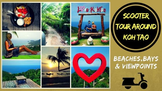 KOH TAO SCOOTER TOUR – Beaches, Bays & Viewpoints