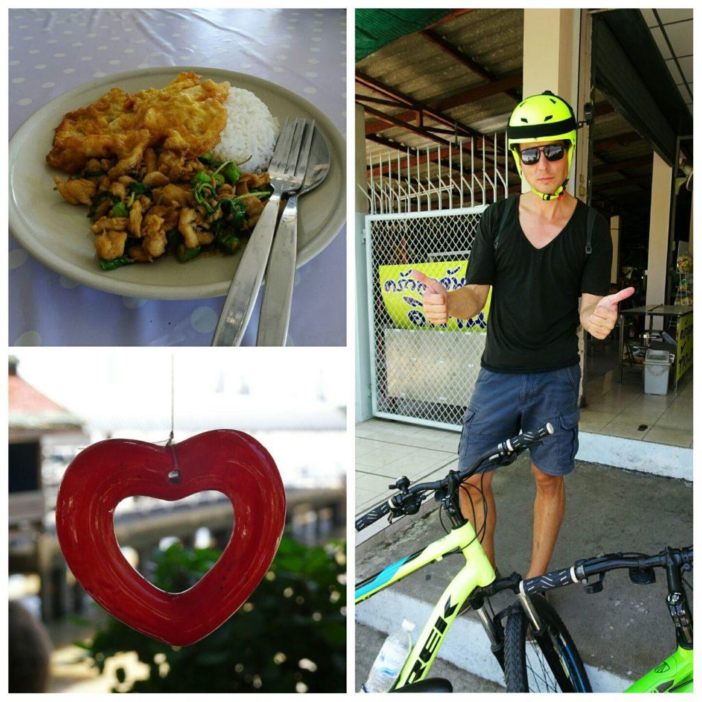 best things bangkok green bike tour bang krajao lunch break