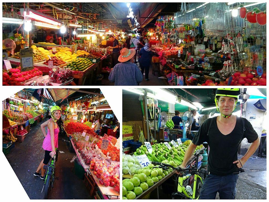 best things bangkok green bike tour khlong toei market